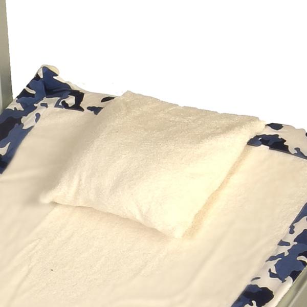 Cuscino Camouflage Blue