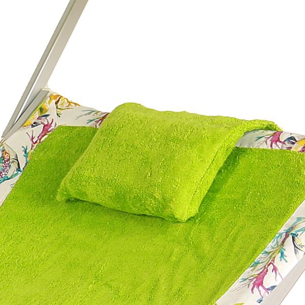 Cuscino Green Flowers