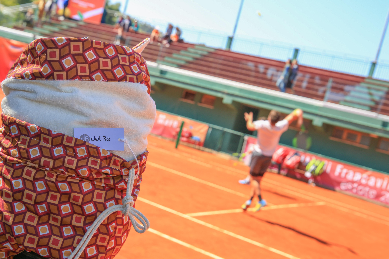 Internazionali di Tennis: Del Re presenta i suoi prodotti Moda Mare 2017