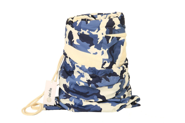 Sacca Camouflage Blue